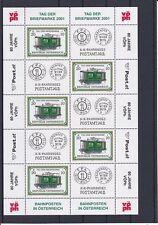 2001 Tag der Briefmarke Kleinbogen Postfrisch ** ANK 2379 € 45,--
