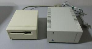 Apple M0130 Macintosh External MAC Floppy Disk Drive & Ehman Hard Drive
