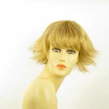 Perruque femme courte blond doré MELISSA 24B