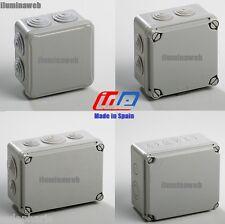 Caja de Empalme Estanca Exterior IDE Spain- 80x80 IP54, 100x100-150x100 IP65/67
