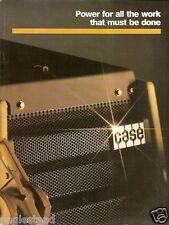 Equipment Brochure Case Construction Product Line Overview E1176
