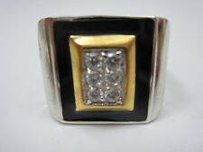 Mens CZ Ring Size 10