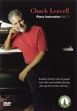 Chuck Leavell Piano Instruction Vol. 1 Dvd New 000320426