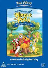 The Magical World Of Winnie The Pooh - Love & Friendship (DVD, 2004)