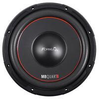 "MB QUART FW1-254 10"" 600 Watt Car Audio Subwoofer DVC 4-Ohm Sub"