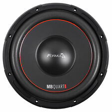 "MB QUART FW1-254 10"" 600 Watt Car Audio Subwoofer DVC 4-Ohm Sub"