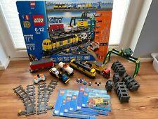 LEGO 7939 City Güterzug komplett mit Bauanleitung + OVP Schienen Power functions