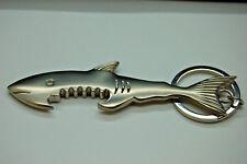shark bottle opener key ring  40gram,zinc alloy