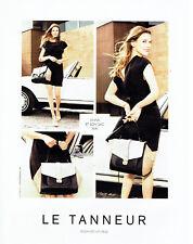 Publicité Advertising 068  2014   maroquinerie Le Tanneur   sac Ava *