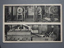 R&L Postcard: The Royal Mint Annealing Furnaces, London, Machinery Industrial