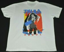 Paula Abdul Total Package Tour 2017 Adult Size Large Graphic T-Shirt Retro Style
