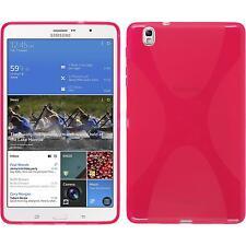 Funda de silicona Samsung Galaxy Tab Pro 8.4 X-Style rosa caldo