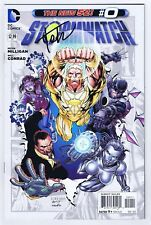 Stormwatch #0 Near Mint- Signed w/COA Tyler Kirkham 2012 DC Comics