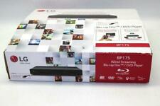 Lg Bp175 Wired Streaming Hi-Res Audio Blu-Ray Dvd Disc Player - (Black)