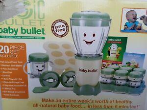 BABY BULLET 20 Piece Set Magic Bullet Baby Food Maker kitchen blender nutrition