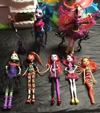Mattel Monster High Dolls. Freaky Fusion Hybrids lot Avea Trotter Bonita Femur