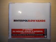 INTERPOL : SLOW HANDS (3 Versions) *NEUF* [ CD MAXI ]