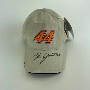 Dale Jarrett #44 UPS Signed Chase Authentics Adjustable Nascar Hat