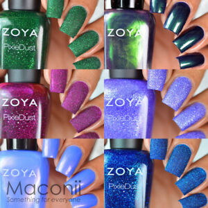 Zoya - Enchanted Collection - Holiday Shimmer & PixieDust Nail Polish 15ml
