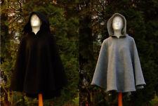 Damen Herren Gewandung Mittelalter Reenactment Cappa 100% Wolle versch. Farben