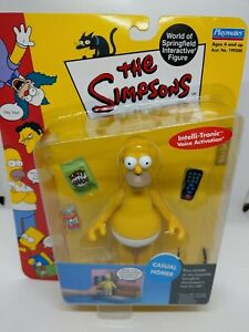 The Simpsons WOS Playmates Series 4 Casual Homer NIB Interactive Figure 2000