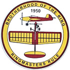RINGMASTERS RULE STICKERS x 6 -- BROTHERHOOD OF THE RING - CONTROL LINE PLANE