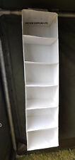 Ex British Army Hanging Wardrobe Storage / Organiser / Shelves STRONG 6 Shelf