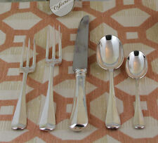 Hand-Forged Sterling Silver 5-pc Place-Setting, Rattail