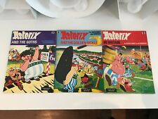 ASTERIX KNIGHT COMIC BOOKS - AND THE GOTHS, AND THE GOLDEN SICKLE, IN BRITAIN