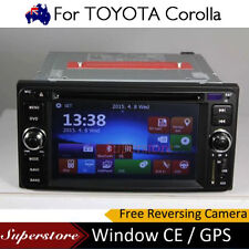 6.2 inch CAR DVD GPS Player Stereo navi head unit For 2002-2007 TOYOTA Corolla