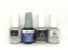 IBD Just Gel Polish-4pc kit- Power Bond,Base & Top,Mattify Matte Top 0.5oz/14ml