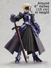Saber Alter Black Fate Stay Night Variable Doll PVC Figure Model Figma 072 NEW