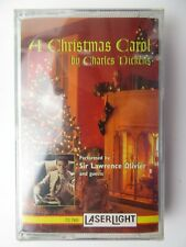 Sir Lawrence Olivier A Christmas Carol (Cassette) New Sealed
