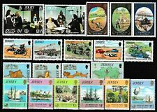s35011 JERSEY 1980 MNH Complete year set Annata completa