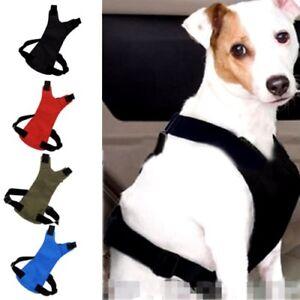 Pet Dog Car Seat Belt Lead Clip Safety Harness Restraint Car Van Journey Travel