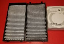 AC Activated Charcoal Cabin Air Filter Set for BMW E70 E71 X5 X6 GENUINE
