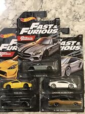 NEW! Hot Wheels 2020 Fast & Furious Set of 5🔥New Walmart Exclusive Release