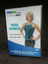NEW SEALED DVD YOGA FITNESS Full Body Workout Ultimate EXERCISE TV  5 BONUS MINI