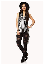 Aztec black and cream cardigan SALE 5% OFF