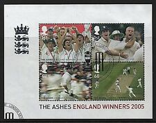 GB Stamps 2005 'England`s Ashes Victory' sg MS2573 - Fine used