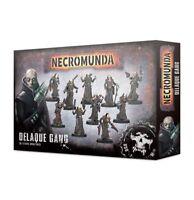 Delaque Gang Necromunda Warhammer 40K NIB Flipside
