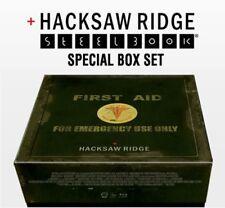 Hacksaw Ridge Blu-ray Steelbook Special Box Book+Photocard+Poster+Military Chain