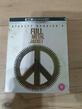 Full Metal Jacket - Limited Edition 4k & 2d Steelbook Blu-Ray (With Slipcase)