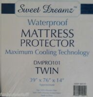 SWEET DREAMZ Bed Bedding Mattress Protector Waterproof Twin Size Maximum Cooling