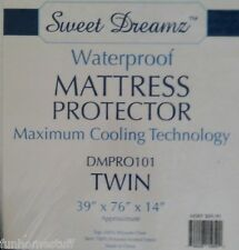 SWEET DREAMZ Bed Bedding Mattress Protector Waterproof Twin Size Maximum Cooling