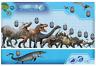 JURASSIC World  Dinosaur Comparative Size Wall Chart Poster 61 x 91 cm FP3882