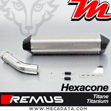 Auspuffanlage Topf auspuff Remus Hexacone titan BMW R 1200 RT 2008