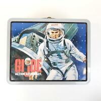 GI Joe Action Astronaut Collectible Metal Tin Case Lunchbox 1998 Vintage Rare