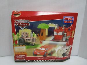 NEW 2008 Mega Bloks Disney Pixar Cars Tippin' Tractor Set 7786 Sealed