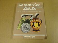 BOEK / DE SPELEN VAN ZEUS - MYTHE EN WERKELIJKHEID VAN DE OLYMPISCHE SPELEN